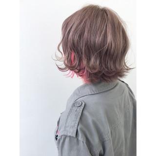 外国人風 外ハネ ハイライト ストリート ヘアスタイルや髪型の写真・画像