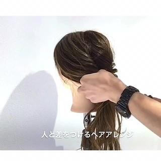 ヘアアレンジ 上品 女子会 デート ヘアスタイルや髪型の写真・画像