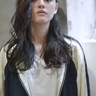 ロング 大人かわいい 暗髪 外国人風 ヘアスタイルや髪型の写真・画像