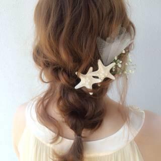 大人かわいい フェミニン ヘアアレンジ 愛され ヘアスタイルや髪型の写真・画像