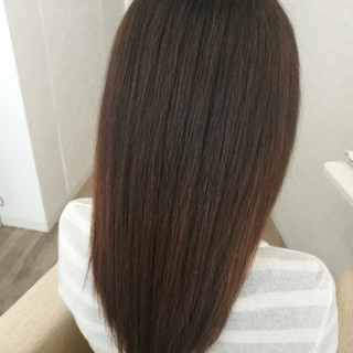 縮毛矯正ストカール 縮毛矯正 縮毛矯正名古屋市 艶髪 ヘアスタイルや髪型の写真・画像