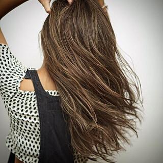 ハイライト 外国人風カラー デート グレージュ ヘアスタイルや髪型の写真・画像