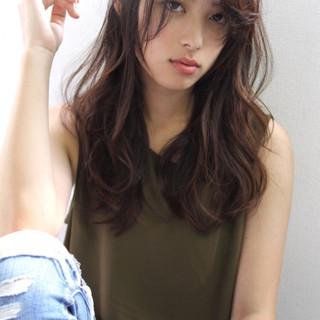 巻き髪 おフェロ デート ヘアアレンジ ヘアスタイルや髪型の写真・画像