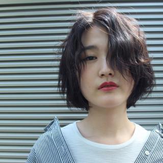 斉藤郁恵さんのヘアスナップ