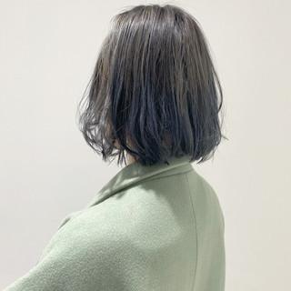 ボブヘアー ブリーチ必須 ショートボブ 透明感カラー ヘアスタイルや髪型の写真・画像