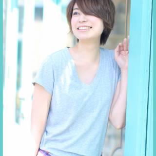 大人かわいい 夏 ストリート 透明感 ヘアスタイルや髪型の写真・画像