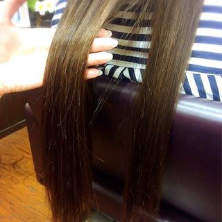 ストレート ナチュラル ロング 暗髪 ヘアスタイルや髪型の写真・画像 ヘアスタイルや髪型の写真・画像