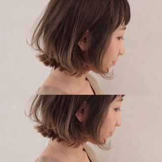 ハイライト グラデーションカラー ストリート ボブ ヘアスタイルや髪型の写真・画像