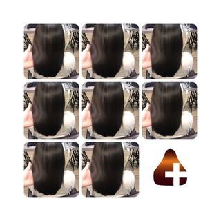 セミロング トリートメント ナチュラル 美髪 ヘアスタイルや髪型の写真・画像