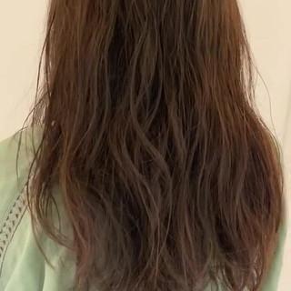 ゆるふわパーマ 無造作パーマ ミニボブ ロング ヘアスタイルや髪型の写真・画像