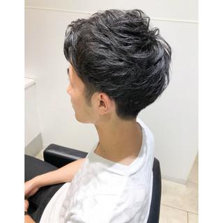 メンズカジュアル メンズカット ストリート メンズショート ヘアスタイルや髪型の写真・画像