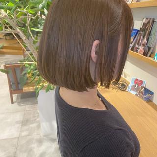 ミニボブ ボブ ショートボブ 大人ショート ヘアスタイルや髪型の写真・画像