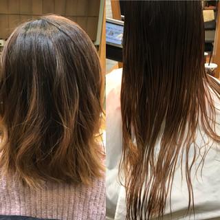 透明感 ミディアム パーマ ナチュラル ヘアスタイルや髪型の写真・画像 ヘアスタイルや髪型の写真・画像