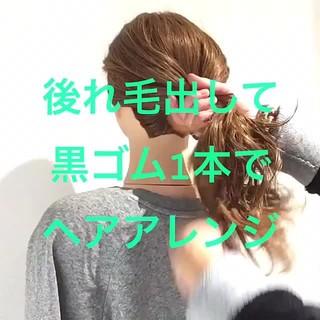 フェミニン 大人女子 ヘアアレンジ ロング ヘアスタイルや髪型の写真・画像