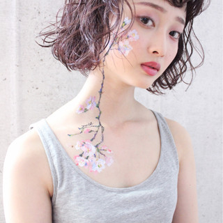 外国人風 アンニュイ ナチュラル 愛され ヘアスタイルや髪型の写真・画像