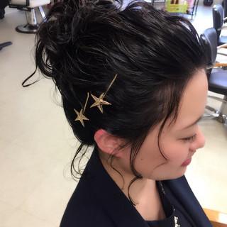 伸二朗さんのヘアスナップ