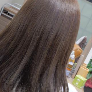 上品 エレガント アッシュ リラックス ヘアスタイルや髪型の写真・画像