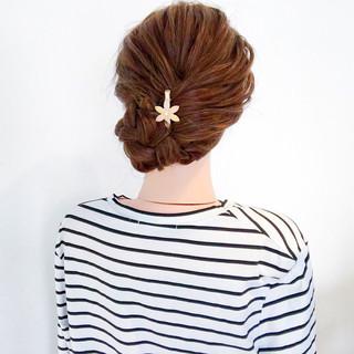 ロング オフィス フェミニン デート ヘアスタイルや髪型の写真・画像
