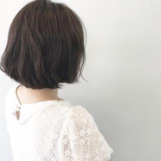 透明感 リラックス ボブ 秋 ヘアスタイルや髪型の写真・画像 ヘアスタイルや髪型の写真・画像