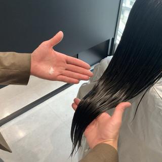360度どこからみても綺麗なロングヘア 髪質改善カラー 髪質改善 ロングヘア ヘアスタイルや髪型の写真・画像