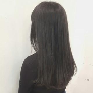 外国人風 ロング ストリート アッシュ ヘアスタイルや髪型の写真・画像