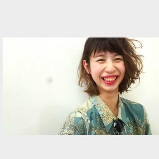 アッシュ ショート 外国人風 グラデーションカラー ヘアスタイルや髪型の写真・画像