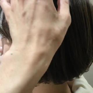 フェミニン ハイライト グレージュ 大人女子 ヘアスタイルや髪型の写真・画像 ヘアスタイルや髪型の写真・画像