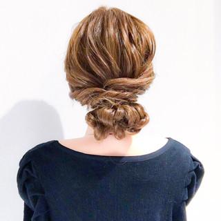 謝恩会 簡単ヘアアレンジ エレガント 上品 ヘアスタイルや髪型の写真・画像 ヘアスタイルや髪型の写真・画像