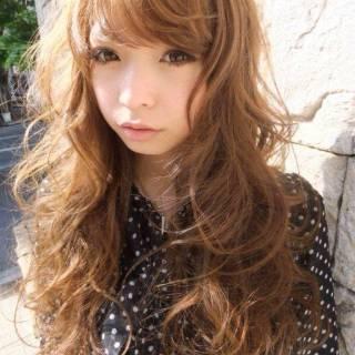モテ髪 外国人風カラー ゆるふわ コンサバ ヘアスタイルや髪型の写真・画像