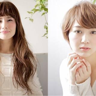 大人かわいい ゆるふわ ロング オン眉 ヘアスタイルや髪型の写真・画像 ヘアスタイルや髪型の写真・画像