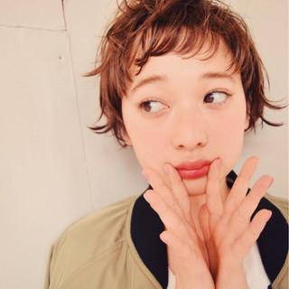 外国人風 前髪あり 外ハネ 大人かわいい ヘアスタイルや髪型の写真・画像