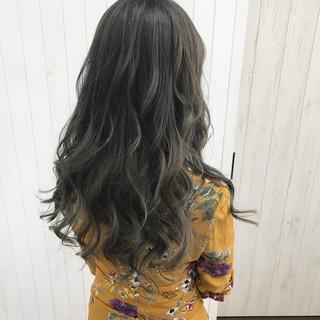 透明感 外国人風 ロング ハロウィン ヘアスタイルや髪型の写真・画像