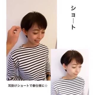 ショートヘア ウルフカット ベリーショート ショートボブ ヘアスタイルや髪型の写真・画像