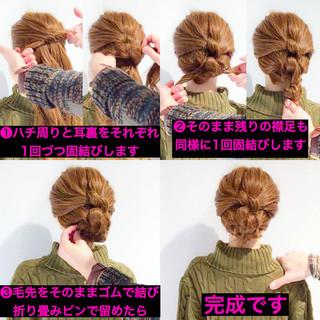 簡単ヘアアレンジ ヘアアレンジ アウトドア ロング ヘアスタイルや髪型の写真・画像 ヘアスタイルや髪型の写真・画像