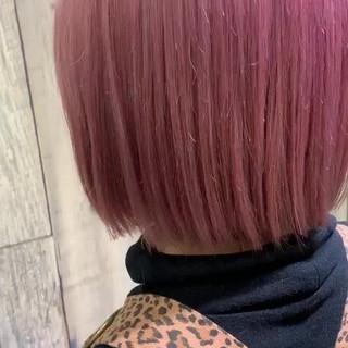 アンニュイほつれヘア ストリート ボブ 大人かわいい ヘアスタイルや髪型の写真・画像