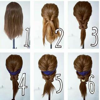 大人女子 ヘアアレンジ ロング ストリート ヘアスタイルや髪型の写真・画像