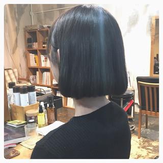 韓国ヘア ボブ オルチャン ヘアアレンジ ヘアスタイルや髪型の写真・画像