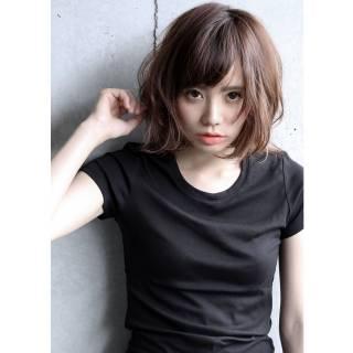 大人女子 ナチュラル 抜け感 かっこいい ヘアスタイルや髪型の写真・画像