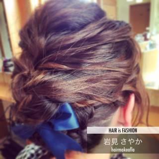 ボブ ヘアアレンジ コンサバ モテ髪 ヘアスタイルや髪型の写真・画像