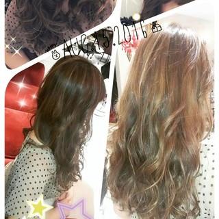 ストリート アッシュ 外国人風 ローライト ヘアスタイルや髪型の写真・画像