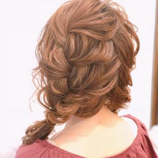 セミロング 可愛い イベント かわいい ヘアスタイルや髪型の写真・画像