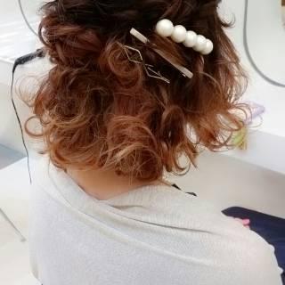 春 モテ髪 グラデーションカラー コンサバ ヘアスタイルや髪型の写真・画像