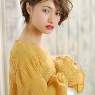 ヘアアレンジ かっこいい ふわふわ ストリート ヘアスタイルや髪型の写真・画像