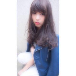 暗髪 大人かわいい 黒髪 ナチュラル ヘアスタイルや髪型の写真・画像