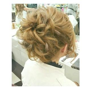 ゆるふわ シニヨン ナチュラル ロング ヘアスタイルや髪型の写真・画像 ヘアスタイルや髪型の写真・画像