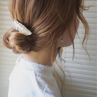 ショート ロング ヘアアレンジ ミディアム ヘアスタイルや髪型の写真・画像