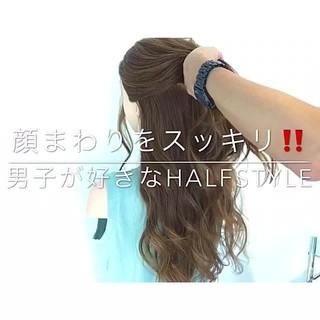 上品 ロング アンニュイ 簡単ヘアアレンジ ヘアスタイルや髪型の写真・画像