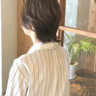 ショート エレガント ウルフカット ナチュラルウルフ ヘアスタイルや髪型の写真・画像