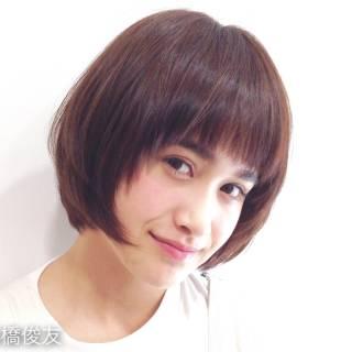 ベース型 コンサバ グラデーションカラー ナチュラル ヘアスタイルや髪型の写真・画像