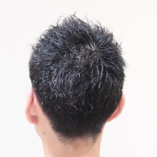 オフィス ショート メンズ スポーツ ヘアスタイルや髪型の写真・画像